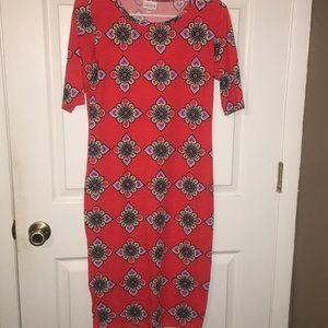 LuLaRoe Julia dress size S